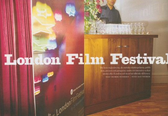 Dan Wesker, Photography, BLM, London Film Festival