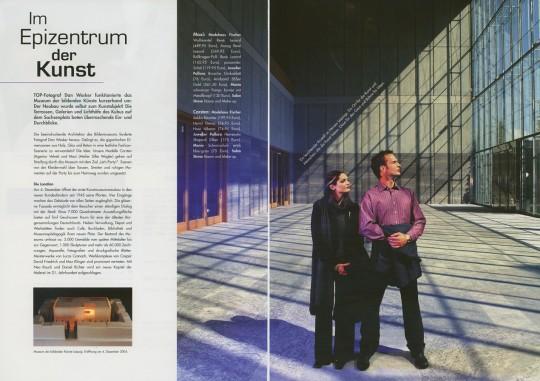 Dan Wesker, Photography, Top Magazin - Museum